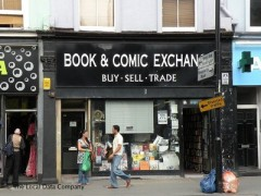 Book & Comic Exchange, exterior picture