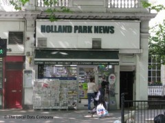 Holland Park Newsagents, exterior picture