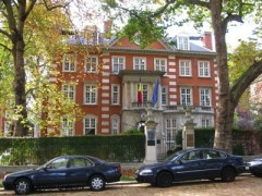 on Kensington Palace Map