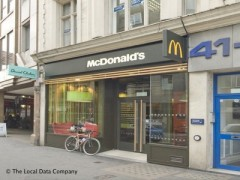 Mcdonald S Restaurant 41 42 London Wall London Fast