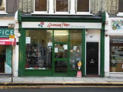 Geranium Shop For The Blind 817 Fulham Road London Charity Shops