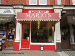 Mario\'s Barber Shop, exterior picture