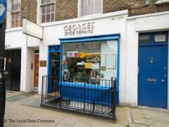 Georges Shoe Repairs, exterior picture