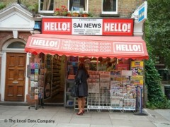 Sai Newsagents, exterior picture