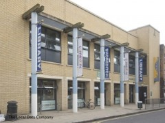 Shoreditch Library, exterior picture