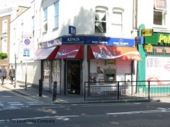 Kings Newsagents, exterior picture