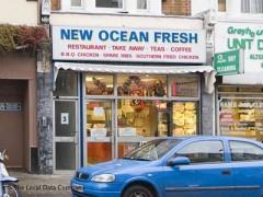 New ocean fresh 3 greyhound road london fish chip for Fresh fish shop near me