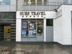 Ours Travel Services, exterior picture
