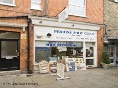 Perrin\'s Shoe Clinic, exterior picture