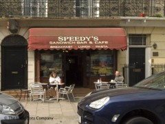 Speedy\'s Snack Bar, exterior picture