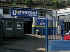 Universal Watling Tyre Group, exterior picture