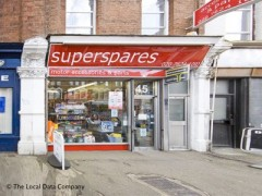 Superspares, exterior picture