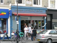 George\'s Portobello Fish Bar, exterior picture