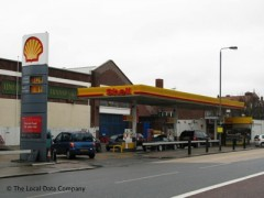 Shell Service Station, exterior picture