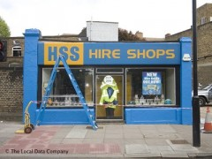 HSS Hire Shops, exterior picture