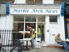 Marble Arch News, exterior picture