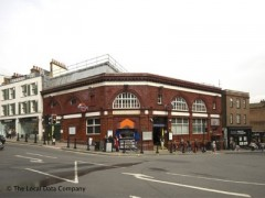 Hampstead Underground Station, exterior picture