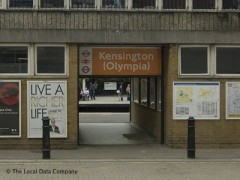 Olympia Underground Station, exterior picture