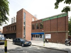 Finsbury Leisure Centre, exterior picture