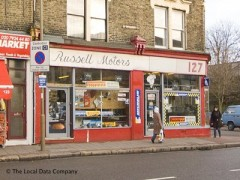 Russell Motors, exterior picture