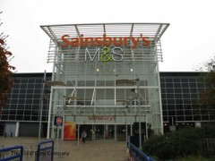 Sainsbury\'s Savacentre, exterior picture
