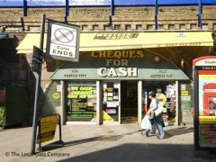 Cheques For Cash, exterior picture