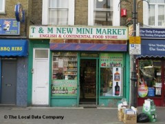 T & M New Mini Market, exterior picture