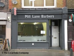 Mill Lane Barbers, exterior picture