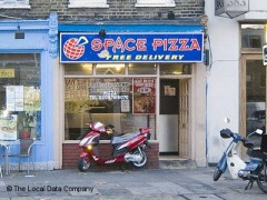 Space Pizza, exterior picture