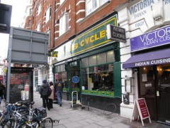 Evans Cycles, exterior picture