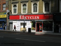 E1 Cycles, exterior picture