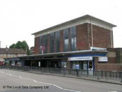 Acton Town Station, exterior picture