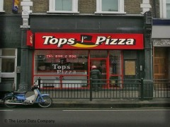 Tops Pizza 174 High Street London Pizza Takeaway Near