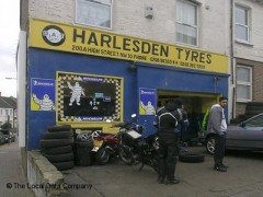 Harlesden Tyres, exterior picture