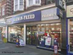 Warman-Freed Pharmacy, exterior picture