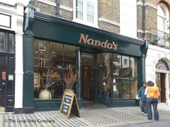 nando 39 s chickenland 113 baker street marylebone london. Black Bedroom Furniture Sets. Home Design Ideas