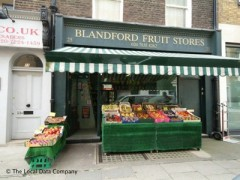 Blandford Fruit Stores, exterior picture
