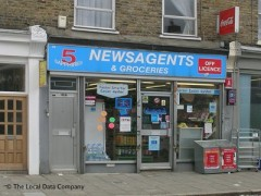 5 Saphires Newsagents, exterior picture