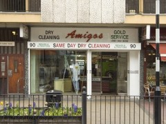 Amigos Dry Cleaners, exterior picture