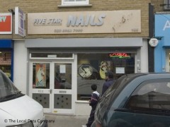Five Star Nails 522 Roman Road London Nail Salons Near Bow Road Tube Station