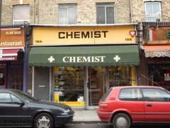 Armstrong Chemist, exterior picture