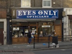 Eyes Only Opticians, exterior picture