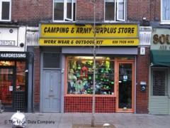 Camping & Army Surplus Store, exterior picture