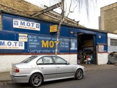 Blue Anchor Garage Testing, exterior picture