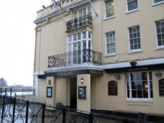 The Trafalgar Tavern, exterior picture