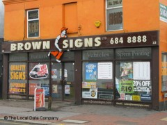 Brown Signs image
