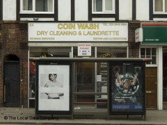 Coin Wash, exterior picture
