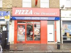 Pizza On Demand 8 Prince Regent Lane London Fast Food