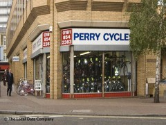 Harry Perry Cycles, exterior picture