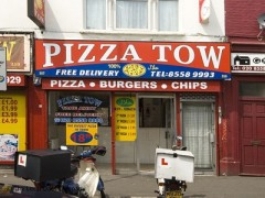 Pizza Tow, exterior picture